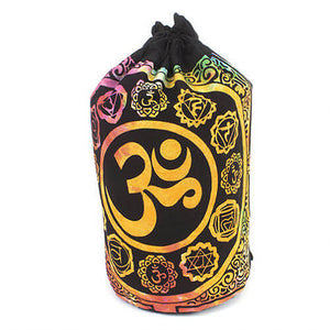 Om Symbol Mandala Bag - Carved Culture
