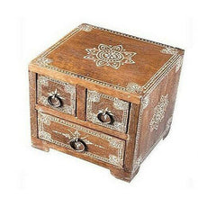 Load image into Gallery viewer, Multiple Drawer Mango Storage Chest - Carved Culture