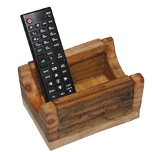 Load image into Gallery viewer, Solid Pine Controller Box - Carved Culture