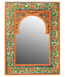 Karna Medium Painted Portrait Mirror