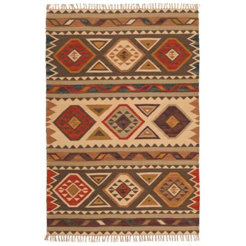 Afshar Kilim Rug - Carved Culture