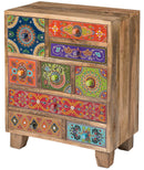 Mango Wood Chest Of Drawers (9) - Carved Culture