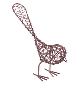 Recycled Metal Garden Bird Ornament - Carved Culture