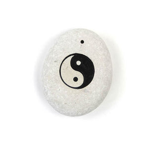 Yin Yang Stone Incense Holder - Carved Culture