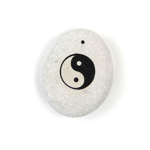 Yin Yang Incense Holder - Carved Culture