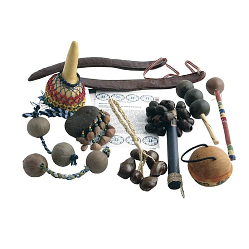 Seed Pod Shakers Instrument Pack - Carved Culture