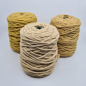 Macrame Cotton Rope - Buttermilk