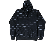 Load image into Gallery viewer, REPEAT HOODIE BLACK