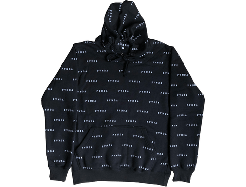 Repeat Collegiate Text Hoodie