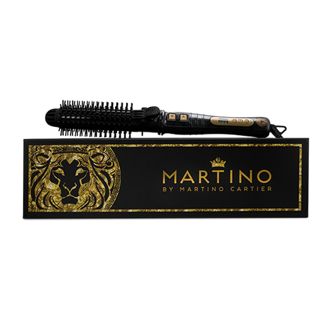 Martino Hot & Bothered 2-In-1 Rotating Brush & Curl