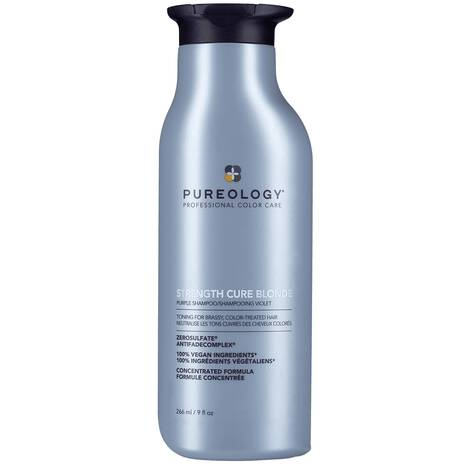 Strength Cure blonde purple shampoo