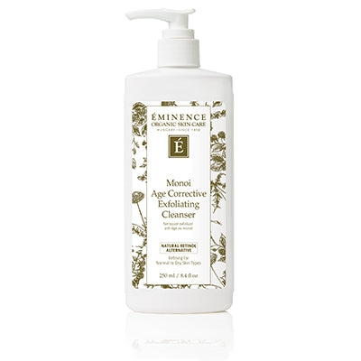 Monoi age correction exfoliating cleanser