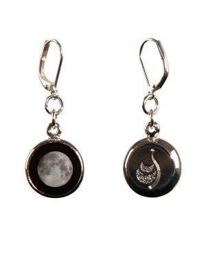 How to Style Large Moon Earrings to Frame Your Face