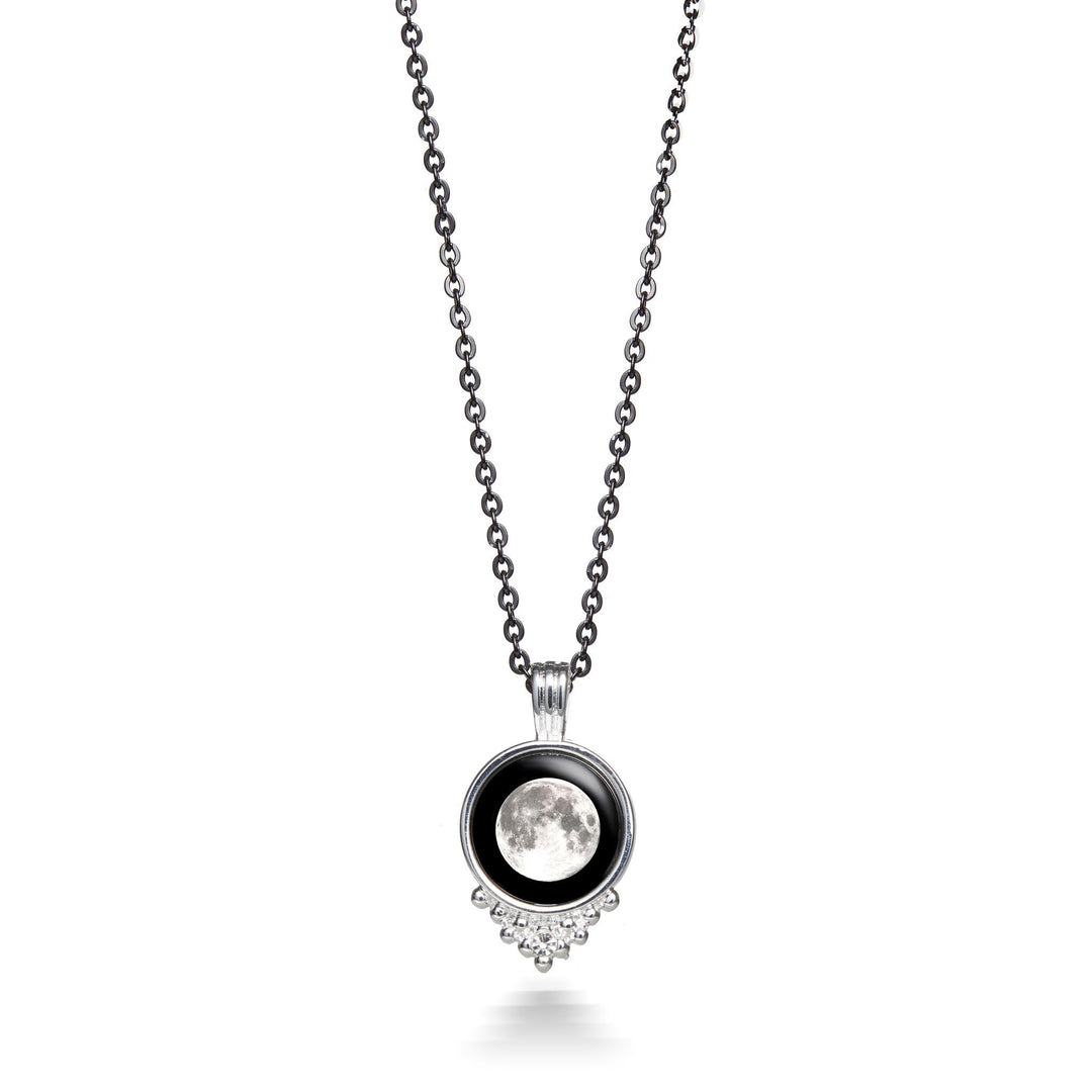 Moonlight Classic Silver Chain Necklace
