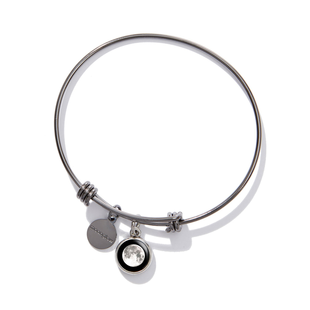 Classic Moon Bangle in Black