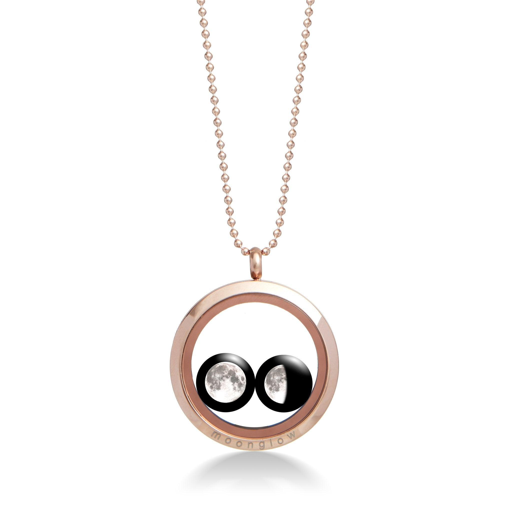 Lovers in the Locket in Rose Gold