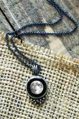 Classic Blue Chain Necklace
