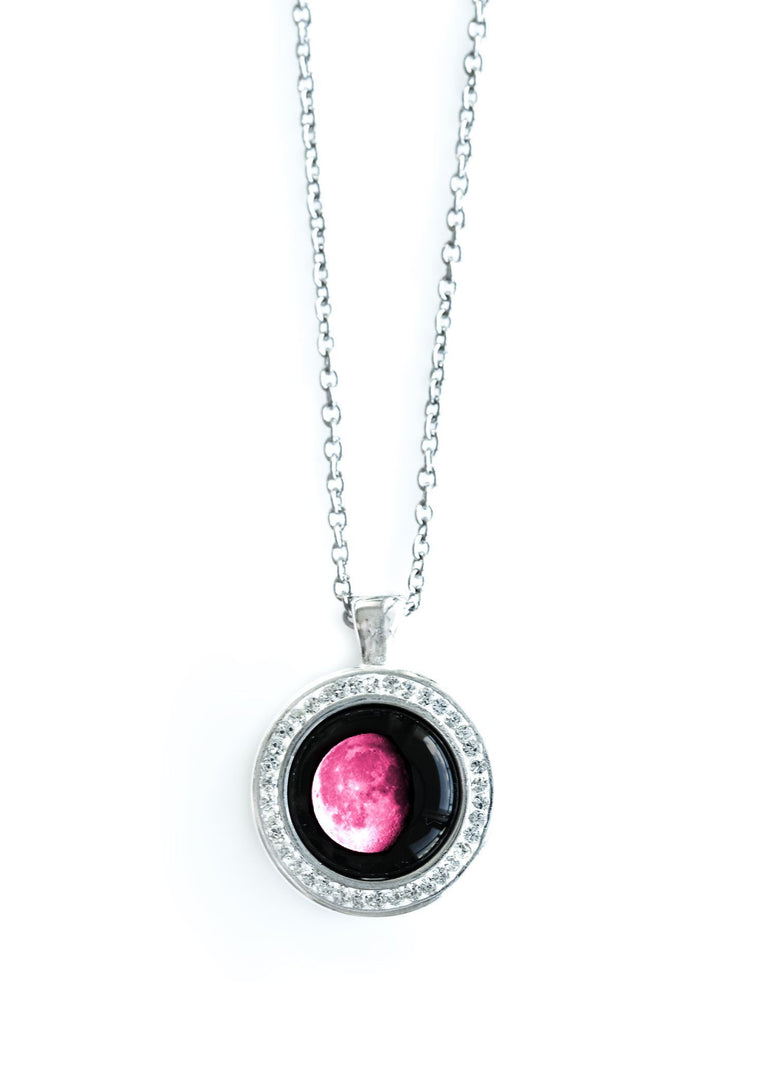 Pink Apollo necklace