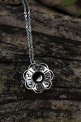 Lunar Blossom Necklace