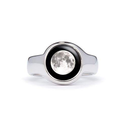 moon ring design