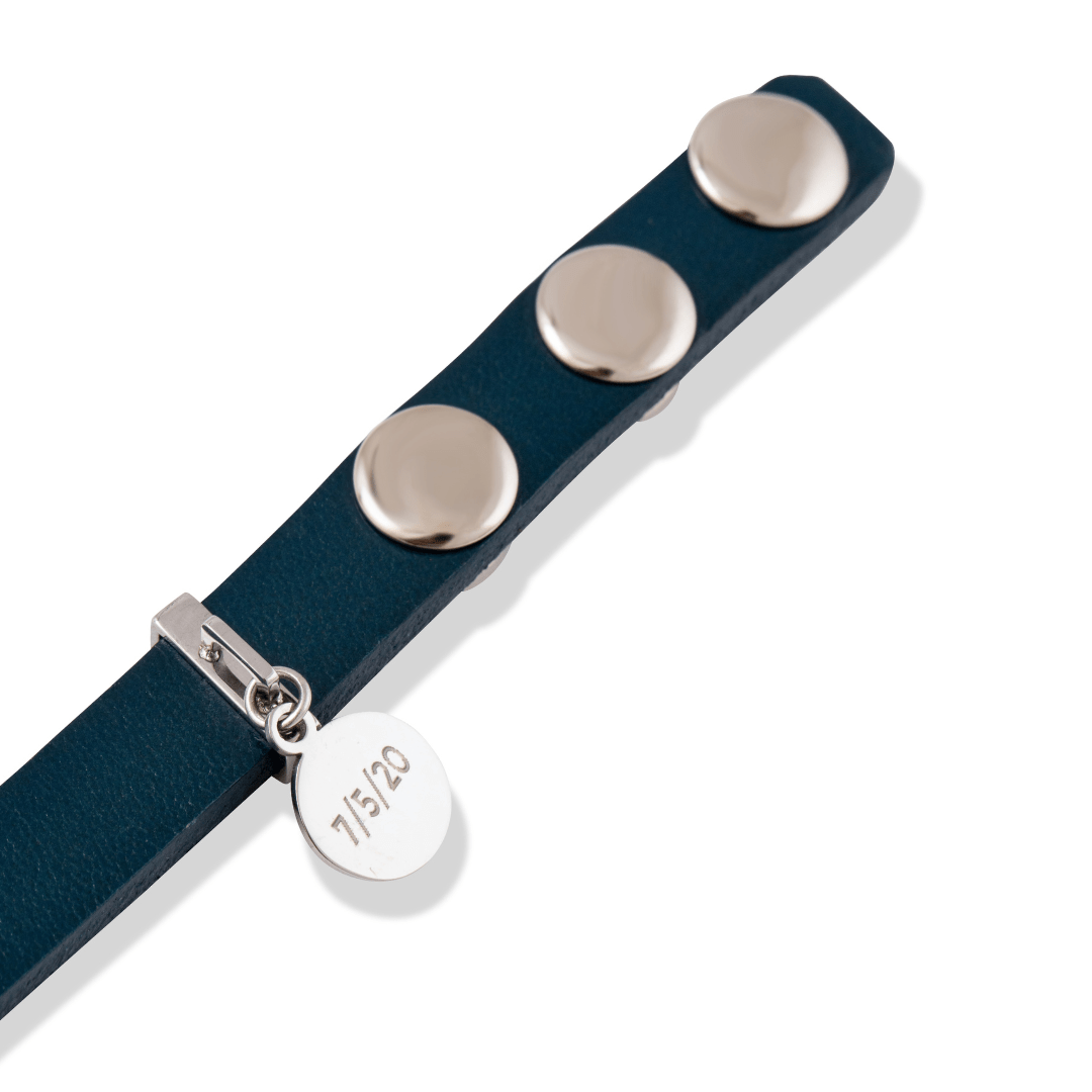 The Humboldt Bracelet in Teal Blue