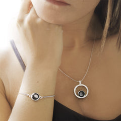 Atmosphere Necklace & Pallene Bracelet