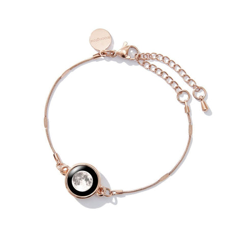Mini Satellite Bracelet in Rose Gold