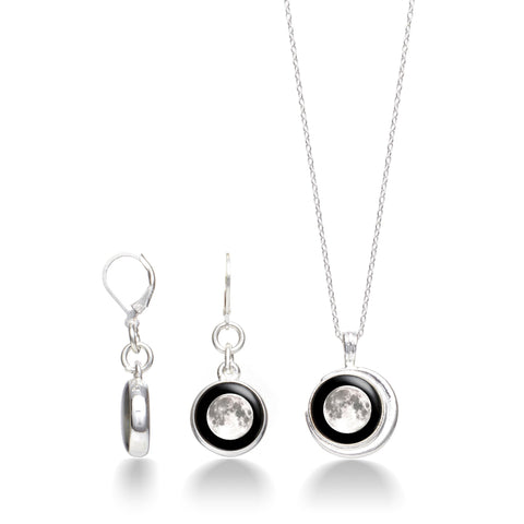 crescent-necklace-in-silver-celestial-moonrise-earring-set