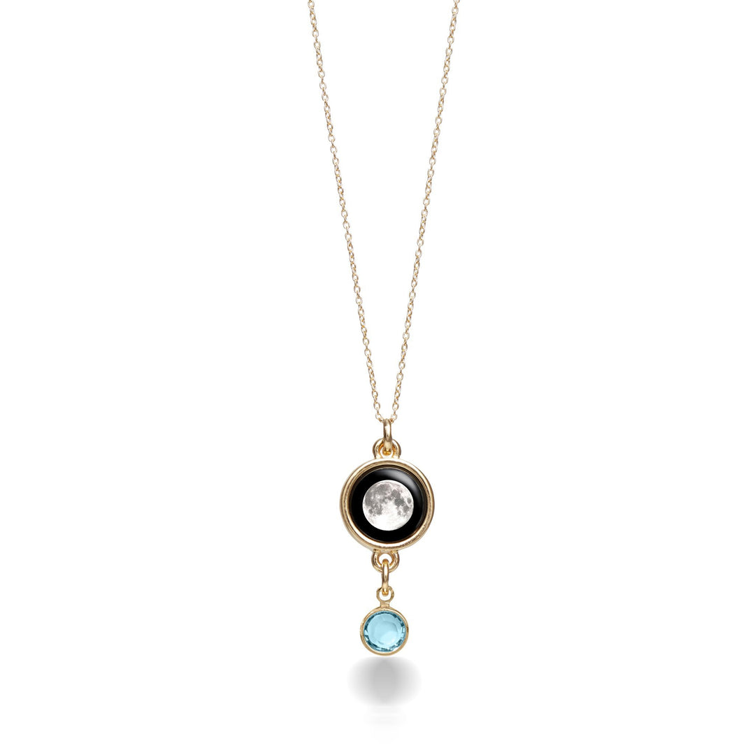 Gold Birthstone Necklace