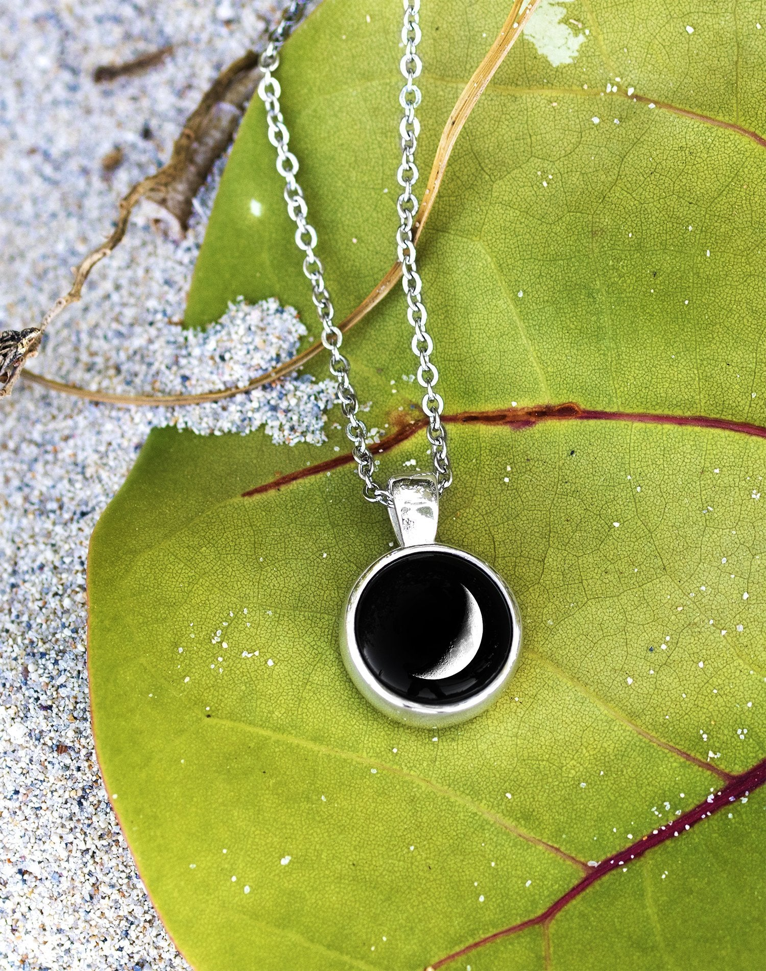 Meteor Necklace in Silver