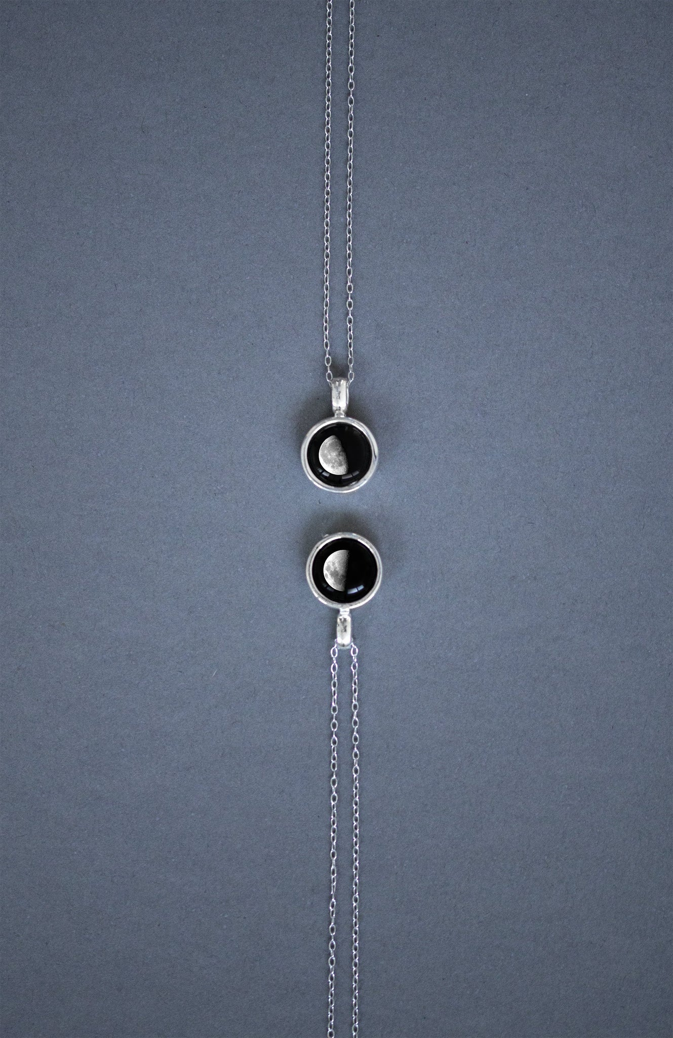 Sky Light Necklace in Silver