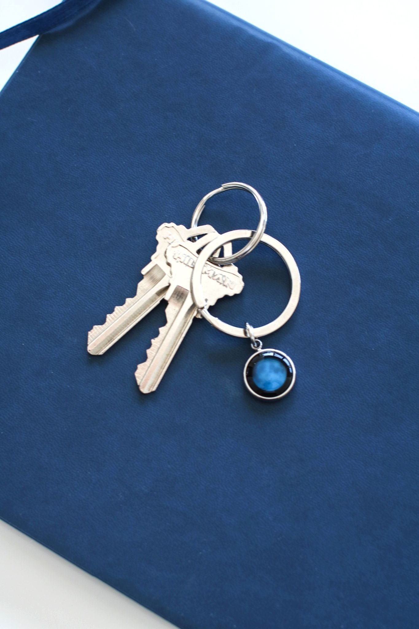 Moon Memory Key Ring