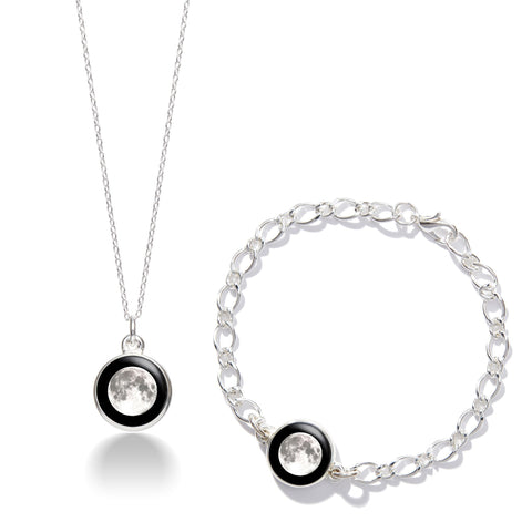 unique-silver-moon-necklace-bracelet-set-for-women
