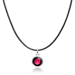 Pink Moon Simplicity Choker Necklace