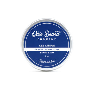 Cleveland Citrus Beard Oil & Balm
