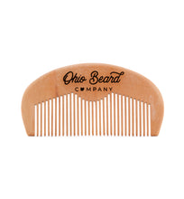 Load image into Gallery viewer, Wooden Beard Comb