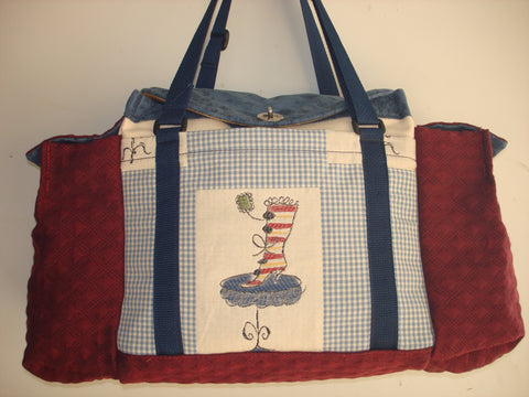 Deluxe Knitting/Crochet Tote Bag-PARISIENNE