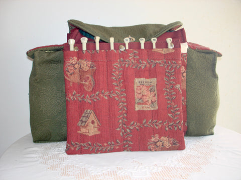 Deluxe Knitting/Crochet Tote Bag-EMMA'S SECRET GARDEN