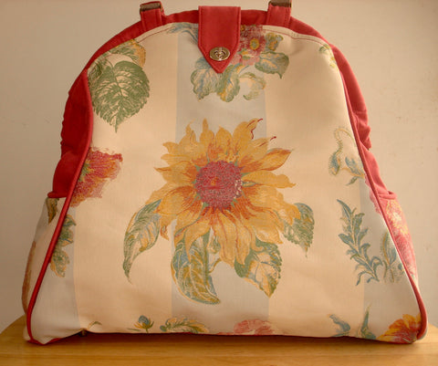 Mary Poppins Tapestry Overnight Bag-HELIANTHUS