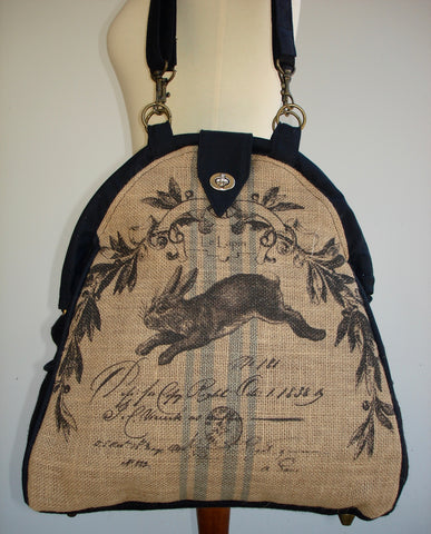 Farmhouse Designs Mini-Mary Poppins Backpack-HARE
