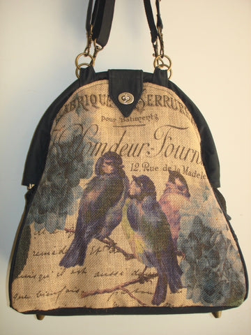 Farmhouse Designs Mini-Mary Poppins Backpack-AVIAN
