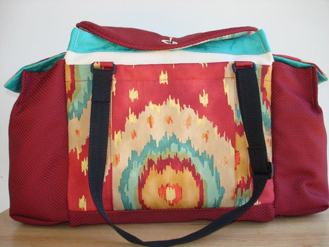 Deluxe Knitting/Crochet Tote Bag- KILAUEA