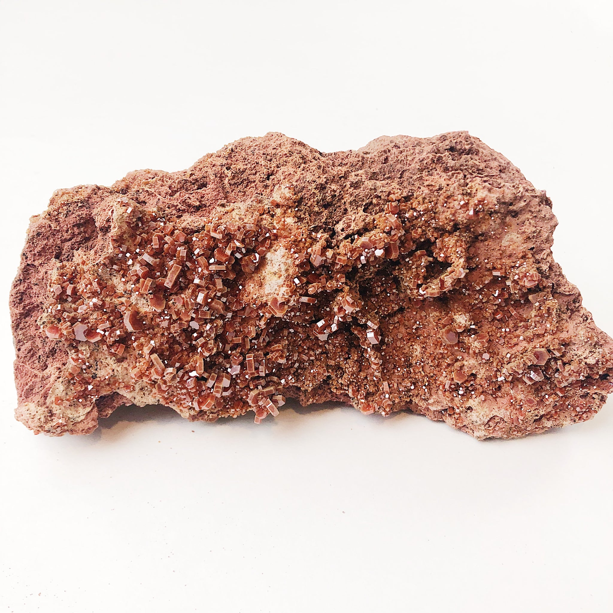 Self-Standing Vanadinite Specimen