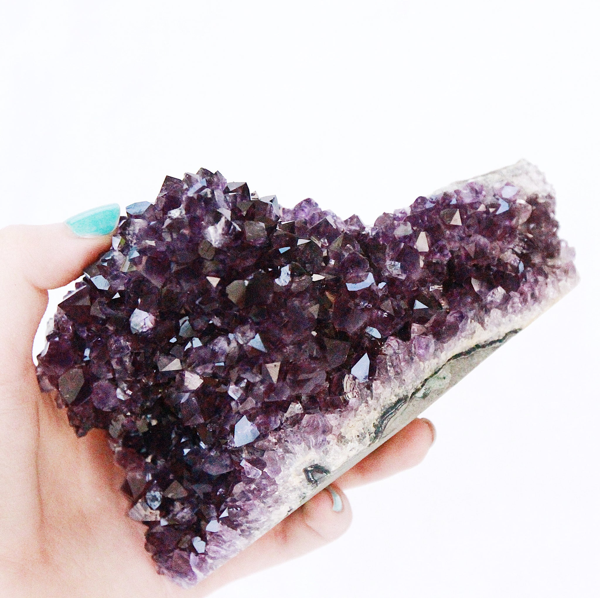 Large AA Grape Jelly Amethyst Formation