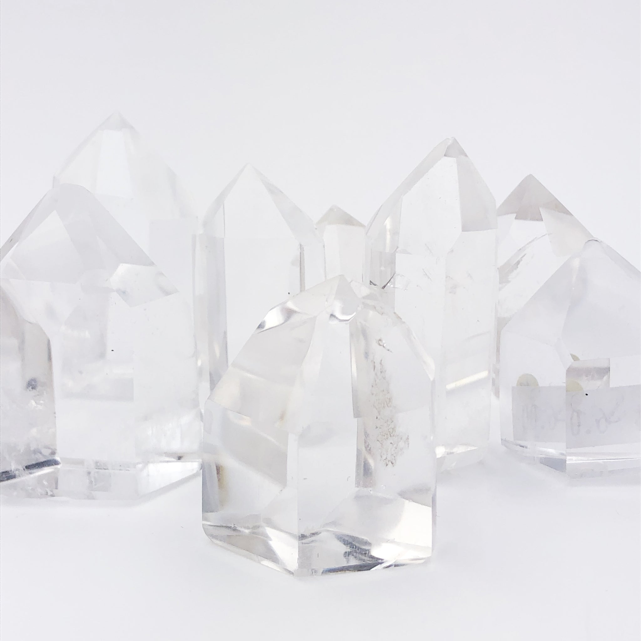 Small Clear Quartz Towers