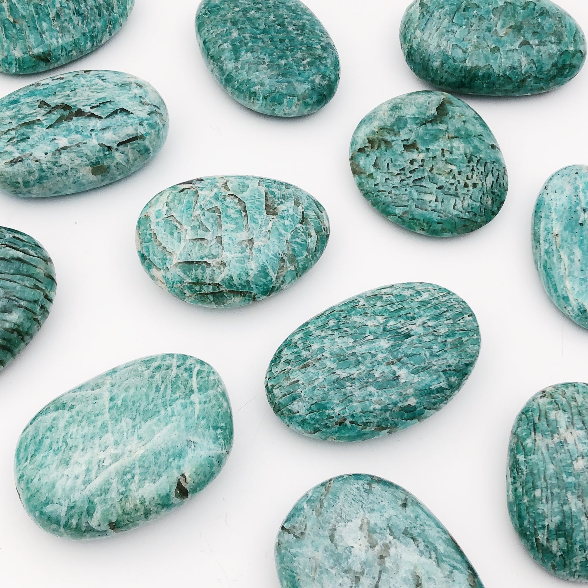 Small Amazonite Palmstone