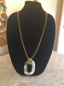 Horn Pendant on chain