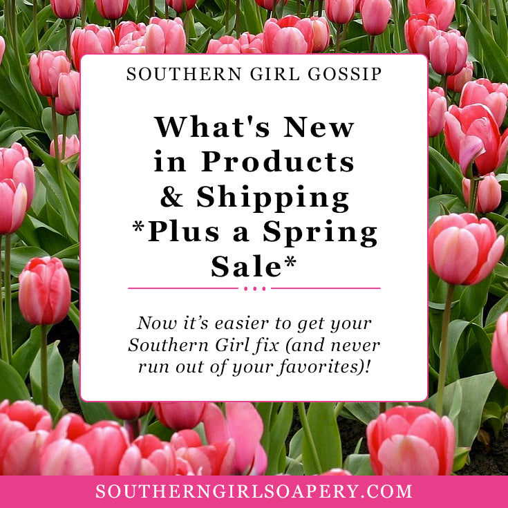 What's New in Products and Shipping (Plus a Spring Sale!)