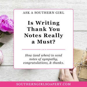 Do I Really Have to Write a Thank You?