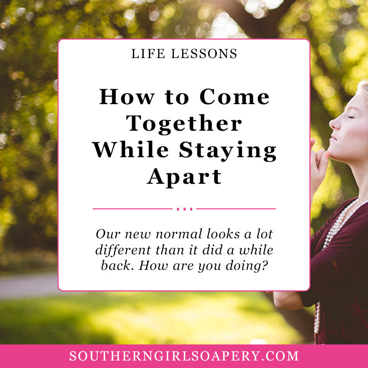 How to Best Come Together to Stay Apart? Covid 19